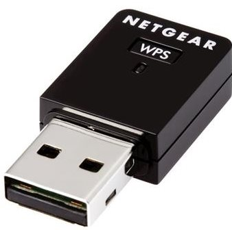 NETGEAR N300 mini WiFi USB Adapter, WNA3100M - WNA3100M-100PES