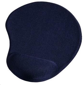 Ergonomická gelová podložka pod myš, modrá - 54778