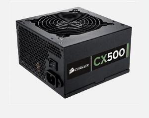 CORSAIR zdroj 500W CX Builder Series s aktivnim PFC a 80PLUS BRONZE certifikace (ventilátor 12 cm) - CP-9020047-EU