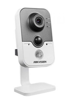 Hikvision IP cube kamera DS-2CD2432F-IW, 3MP, WiFi, 10m IR, PIR, obj. 2,8mm, SD slot, DC12 - DS-2CD2432F-IW