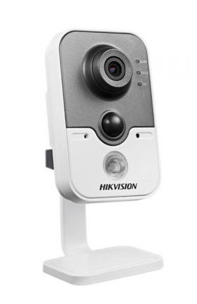 Hikvision IP cube kamera DS-2CD2432F-IW, 3MP, WiFi, 10m IR, PIR, obj. 4mm, SD slot, DC12V - DS-2CD2432F-IW