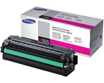 Samsung toner purpurový CLT-M505L/ELS pro SL-C2620DW, C2670FW, magenta, 3500 str. - SU302A