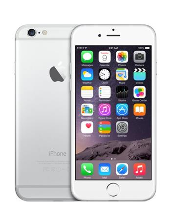 Apple iPhone 6 128GB Silver - MG4C2CN/A