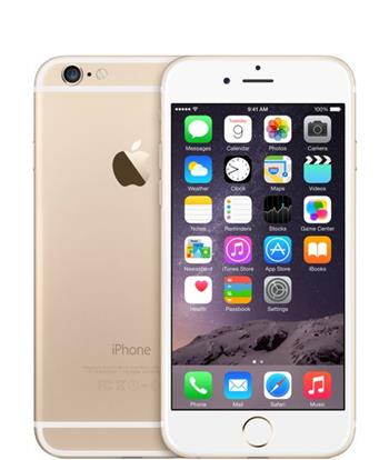 Apple iPhone 6 128GB Gold - MG4E2CN/A
