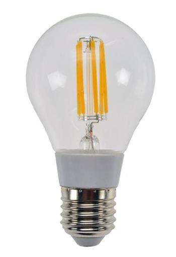 Solight LED žárovka retro, klasický tvar, 6W, E27, 3000K, 360°, 560lm - WZ502