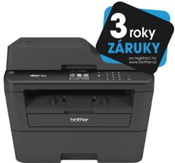 Brother MFC-L2720DW (PCL6, fax, kopírka, barevný skener,duplex. tisk) USB,WiFi,ADF - MFCL2720DWYJ1