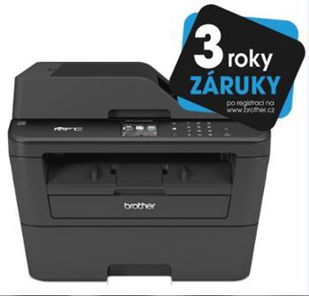 Brother MFC-L2740DW (PCL6, fax, kopírka, barevný skener,duplex. tisk) USB,WiFi,DADF - MFCL2740DWYJ1