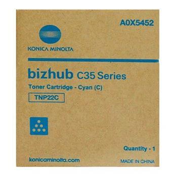 Konica Minolta Toner azurový TNP-22C pro bizhub C35 - A0X5452