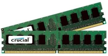 CRUCIAL 4GB=2x2GB DDR2 667MHz PC2-5300 CL5 1.80V (kit 2ks 2048MB) - CT2KIT25664AA667