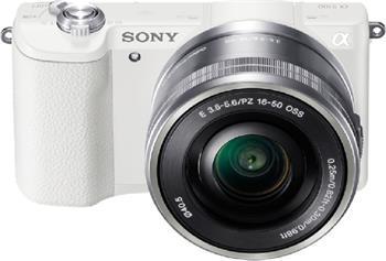 Sony Alpha 5100, 16-50mm, bílý - ILCE5100LW.CEC