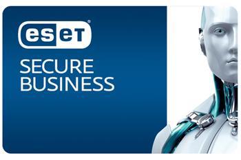ESET Secure Business, 50-99lic na 3 roky, prodloužení, el.licence - eset