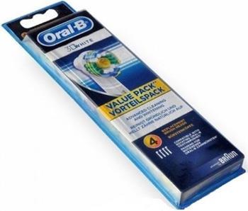 Braun ORAL-B EB 18-4 3D White náhradní hlavy na zubní kartáčky - White EB 18-4