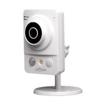 """Dahua Vnitřní IP kamera 1,3Mpix, 1/3"""" CMOS, f=3,8mm, H264, 0.01Lux, IR 10m, PoE, ONVIF S, uSD, audio - IPC-KW100AP"""