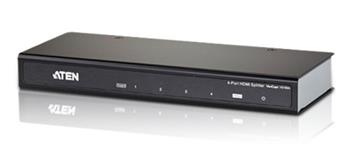 Aten VS-184A 4 port HDMI splitter 1 ->4 HDMI, 2160p Ultra HD - VS-184A