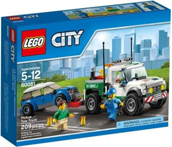 LEGO City - Odtahový pick-up 60081 - 60081
