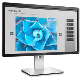 "Dell P2415Q/ 24"" 4k/ 8ms/ 3840x2160/ IPS panel/ černý - 210-ADYV"