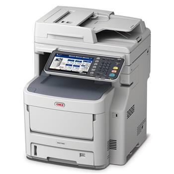OKI MC760dn A4 28 / 28 ppm ProQ2400dpi, RADF, 160GB HDD, 2GB RAM, USB 2.0 LAN (Print / Scan / Copy - 45376013