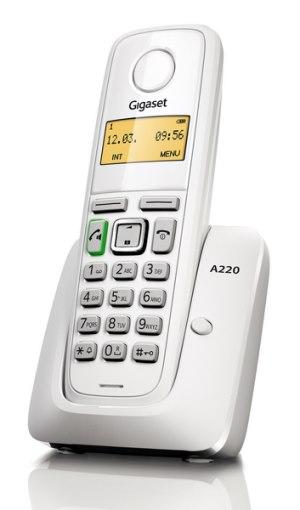 Bezdrátový tel. Siemens Gigaset A220 White - A220W