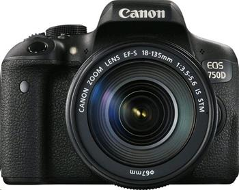 Canon EOS 750D + 18-135 IS STM - 0592C032