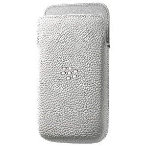 BlackBerry pouzdro kožené pro BlackBerry Classic, bílá - 10090574