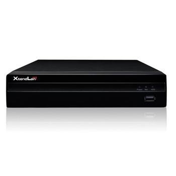 XtendLan NVR 8x2Mpix, 1xHDD, VGA/HDMI, ONVIF, RS485, CZ, RTSP, fanless - NVR-801F