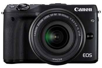 Canon EOS M3 / EF-M 18-55 IS STM - 9694B063
