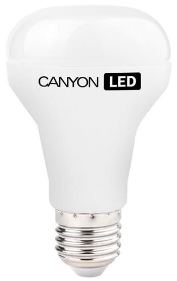 Canyon LED COB žárovka, E27, reflektor mléčná 6W, 470 lm, teplá bílá 2700K - R63E27FR6W230VW