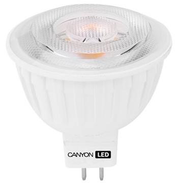 Canyon LED COB žárovka, GU5.3, bodová, 4.8W, 300 lm, teplá bílá 2700K, 60 ° - MRGU5.3/5W12VW60