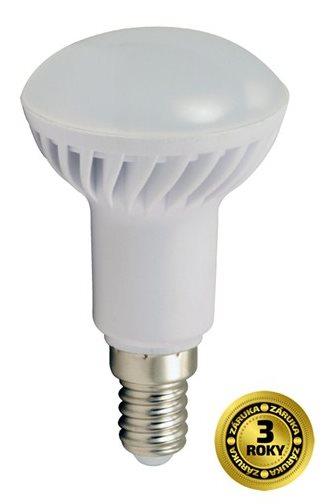 Solight LED žárovka reflektorová, R50, 5W, E14, 3000K, 400lm, bílé provedení - WZ413