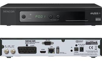Sencor SDB 6010SI DVB-S2, USB, HDMI - SDB 6010SI