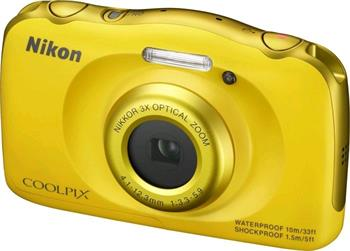 NIKON COOLPIX S33 Yellow + Backpack Kit - VNA853K001
