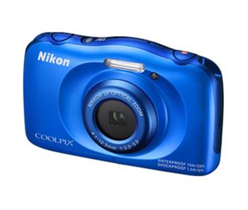NIKON COOLPIX S33 Blue + Backpack Kit - VNA851K001