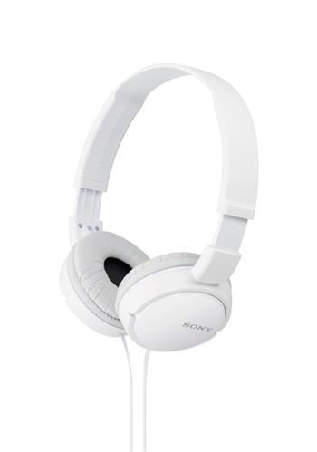 Sony MDR-ZX110 sluchátka, bílá - MDRZX110W.AE