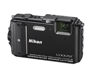 NIKON COOLPIX AW130 - Black + Diving Kit - VNA840K002