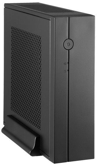 CHIEFTEC Case Compact Series/mini ITX, IX-01B-OP, Black, bez zdroje - IX-01B-OP