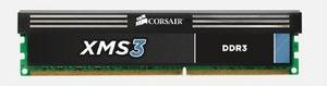 CORSAIR 4GB DDR3 1600MHz XMS3 PC3-12800 CL9-9-9-24 (4096MB s chladičem, 1.65V - CMX4GX3M1A1600C9