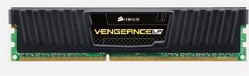 CORSAIR 8GB DDR3 1600MHz VENGEANCE LP BLACK LOW PROFILE PC3-12800 CL9-9-9-24 1.5V - CML8GX3M1A1600C9
