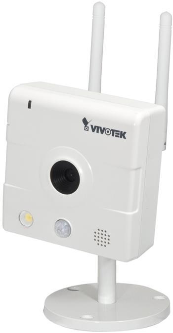 Vivotek IP8133W, 1Mpix CMOS, H.264/MPEG4, PIR čidlo, 1280x800 - IP8133W