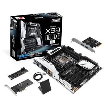 ASUS X99-DELUXE/USB3.1, Intel X99, 2011, 8×DDR4, ATX - 90MB0JF1-M0EAY0
