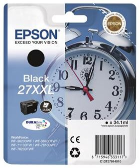 EPSON cartridge T2791 black XXL - C13T27914012