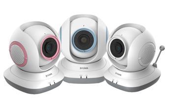 D-Link DCS-855L Baby Monitor HD 360 - DCS-855L