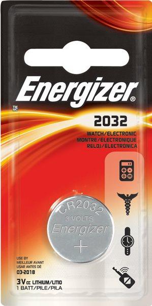 Baterie Energizer CR2032 1ks - 010106006