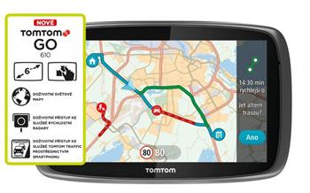 TomTom GO 610 World, LIFETIME mapy - 1FA6.002.55