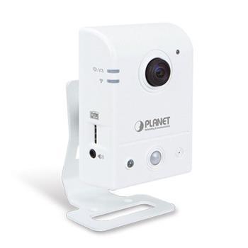 Planet ICA-W8100, IP kamera, CMOS 1,3Mpix, rybí oko 180°, 802.11n, audio, SD slot, PIR, ONVIF/RTSP - ICA-W8100