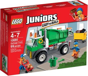 LEGO Juniors - Popelářské auto 10680 - 10680