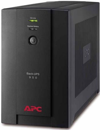 APC Back-UPS 950VA (480W), AVR, USB, české zásuvky - BX950U-FR