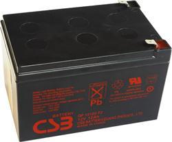 CSB battery GP12120F2 12V/12Ah - GP12120F2