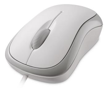 Microsoft Basic Optical Mouse Mac/ Win USB, bílá - P58-00060