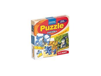 Granna - Puzzle - zvířátka - 02071