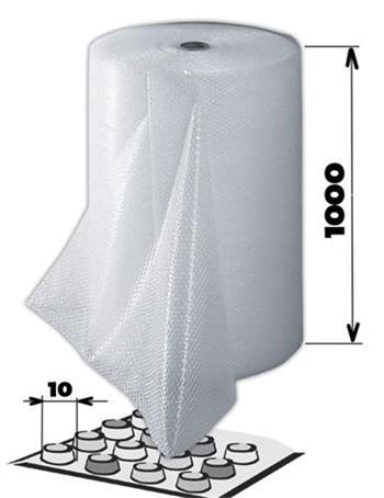 Bublinková fólie na roli 1000 mm x 100 m - 09405000